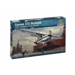 1/48 Italeri Cessna 172 Skyhawk 1987 Landing on Red Square