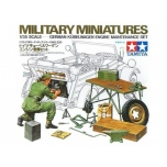 1/35 TAMIYA German Kübelwagen Engine Maintenance Set