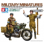 1/35 TAMIYA British BSA M20 Motorcycle w/Military Police