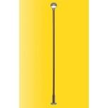 1/87 H0 Wood post lamp GDR Reichsbahn, kit, LED warm-white Viessmann