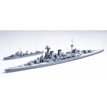 1/700 TAMIYA British battle cruiser Hood and E Class destroyer
