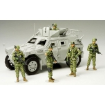 1/35 TAMIYA JGSDF Assistance Team - Iraq Humanitarian