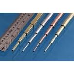 Messingtorud Slide Fit Brass Pack, 0.4, 0.6, 0.8 & 1.0mm 4tk., 305mm Albion Metals