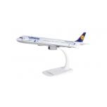 """1/200 Lufthansa Airbus A321 """"25 Jahre Kranichschutz"""" - D-AIRR """"Wismar"""" Snap-Fit"""
