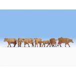 """Figuurid """"Pruunid lehmad"""" 1/87"""