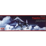 1/144 ICM - TU-144, SUPERSONIC PASSENGER AIRCRAFT