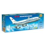 1/144 Boeing 787-9 Dreamliner w. Norwegian Tailhero Decal Freddie Mercury Zvezda