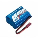 NiMh Aku 7.2V 800mAH  LRP Hyper Tuning Pack 800, lisaku Deep Blue ONE-le