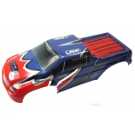 Body Shell Prepainted red/blue HD - S10 Blast MT
