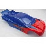 Body Shell Prepainted red/blue HD - S10 Blast
