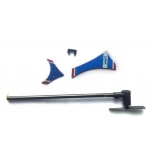 LRP LaserHornet 2.0 Helicopter 2.4GHz - Tail set incl. motor and tail wings