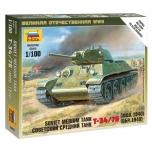 1/100 ZVEZDA T-34/76 SNAP