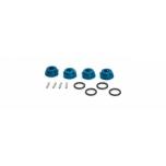 Aluminium Wheel-Adapter blue S10