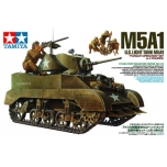 1/35 TAMIYA US Light Tank M5A1