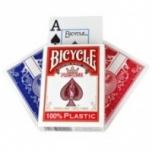 Mängukaardid Bicycle Prestige 100% Plastik