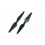 Graupner Multicopter C-PROP 8 x 4 Inch, 5mm Hole - 1 Pair, Black
