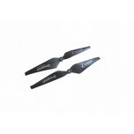 Graupner Multicopter C-PROP 10 x 4 Inch, 6mm Hole - 1 Pair, Black