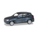 1/87 BMW X3™, saphir black metallic HERPA