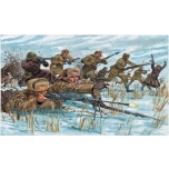 1/72 ITALERI Russian Infantry : winter unif